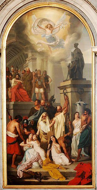 Людовико Липпарини. Мученичества святых Аквилеи.