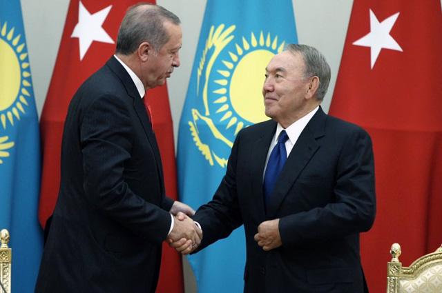 Реджеп Эрдоган выразил благодарность Нурсултану Назарбаеву завклад Казахстана внормализацию отношений между Турцией иРоссией.