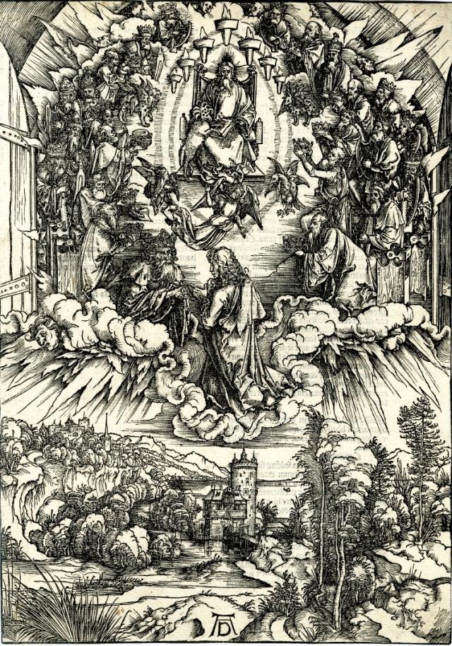 Иоанн перед Богом и двадцатью четырьмя старцами. 1496 г.