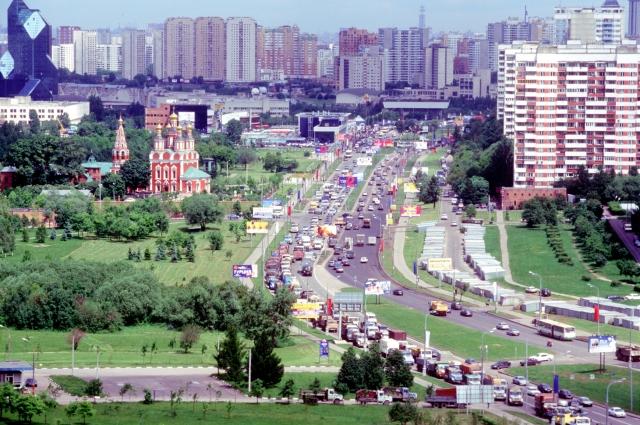 Проспект Вернадского в Москве