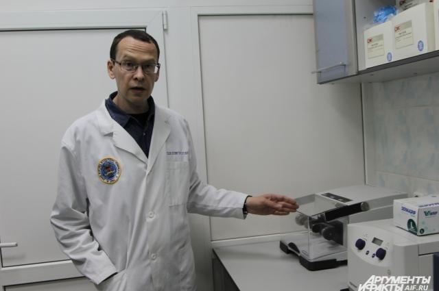 Военный судмедэксперт Игорь Корниенко