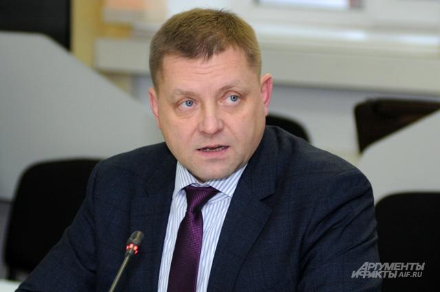 Сергей Диденко, директор Департамента гражданской защиты МЧС России
