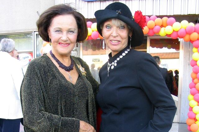 Татьяна Конюхова и Светлана Светличная. 2008 год