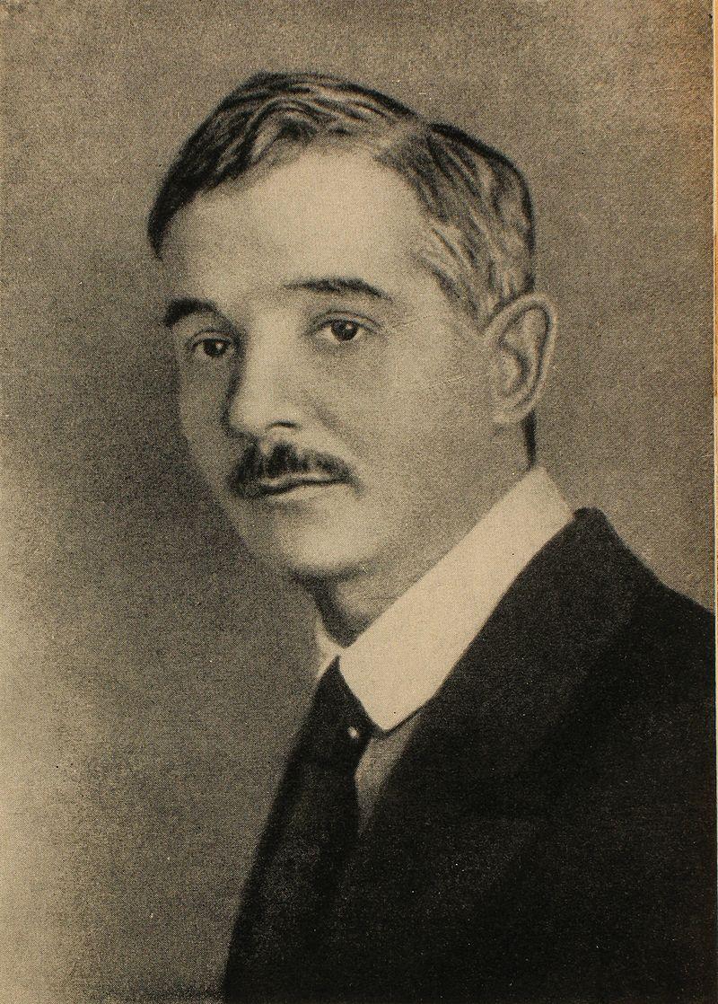 Саша Чёрный. Фотопортрет. Карточка 1910-х годов.