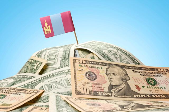 Монголия долг