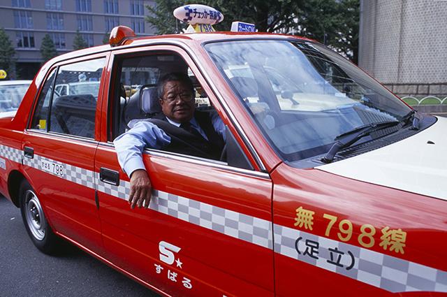 Такси в Японии.