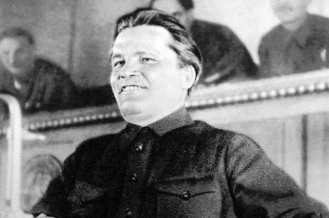 С.М. Киров выступает на XVII съезде ВКП(б). Москва, 1934 год