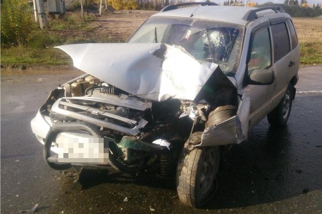 Авария с участием автомобиля скорой помощи произошла днём 10 октября на Восточном обходе.