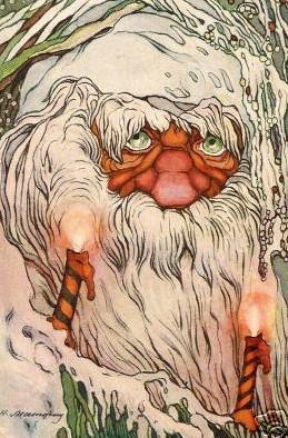 Когда-то Дед Мороз был не самым добрым персонажем сказаний.
