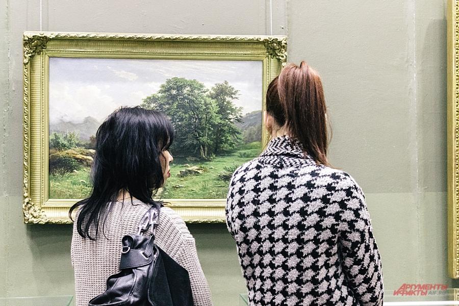 Полюбоваться картинами Шишкина можно в Казани и Елабуге.