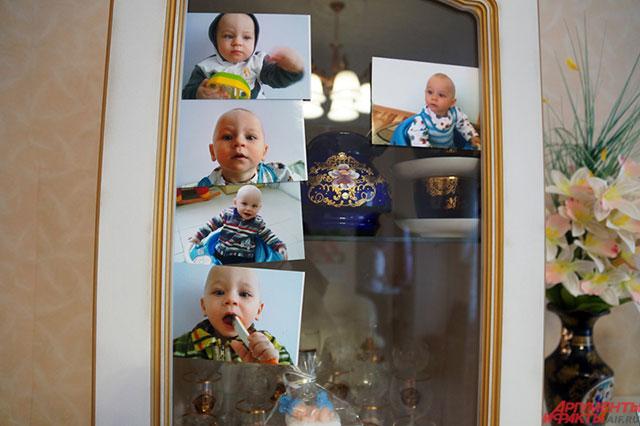 Фотографии Саши в квартире Клары Ругиной.