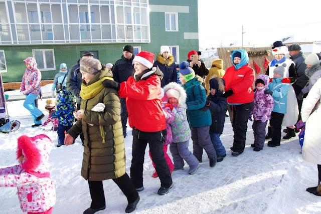 Новый год в ЖК «Крымский» - это всегда весело.