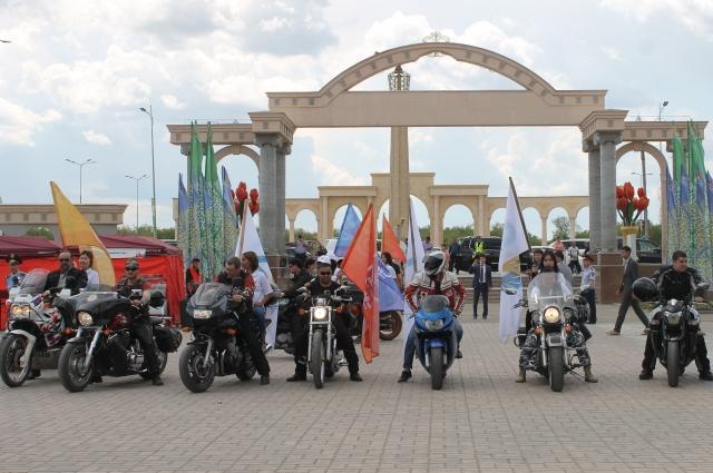 Мотокаравану из Оренбурга предстоит преодолеть более 5 тысяч километров.