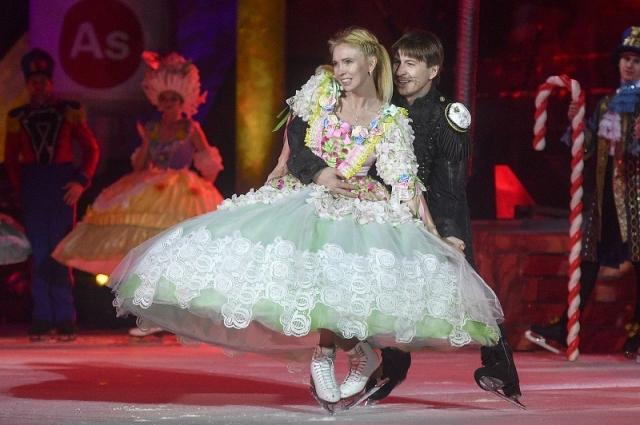 Алексей Ягудин и Татьяна Тотьмянина в шоу «Щелкунчик и мышиный король».