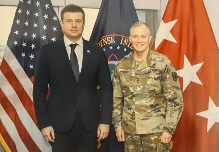Встреча главы ГУР МОУ с главой разведки США в Вашингтоне