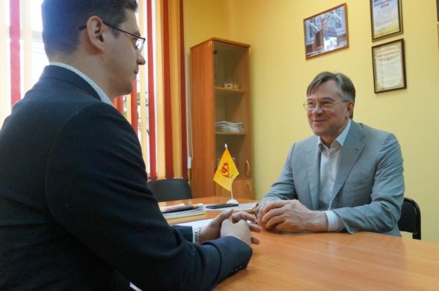 Артем Кузнецов и Александр Терентьев
