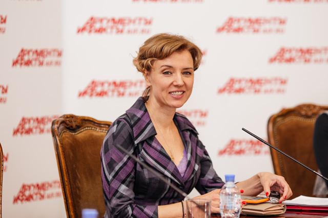 Ксения Алфёрова.