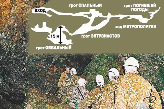 Войти в Кашкулакскую пещеру решается не всякий