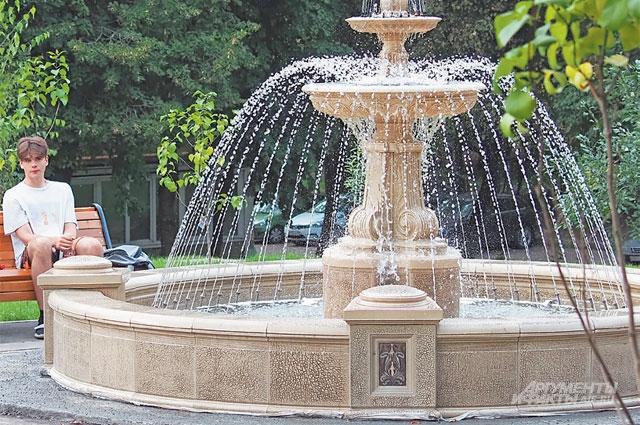 Сквер с фонтаном в мавританском стиле стал украшением района и новой точкой притяжения.