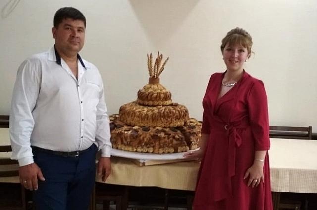 Эдуард Черныш с женой.