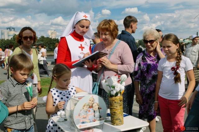 Фестиваль «Дни белого цветка» в столице Урала, 2017 год.