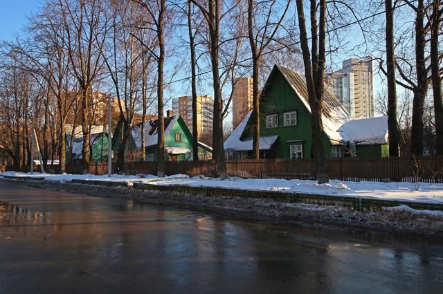 Посёлок Сокол в Москве