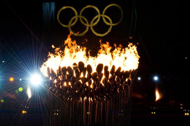 Олимпийский огонь Лондона