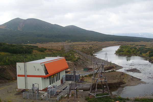 ГЭС на реке Толмачёва.
