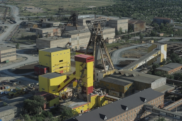 Подземный рудник Гайского ГОКа.