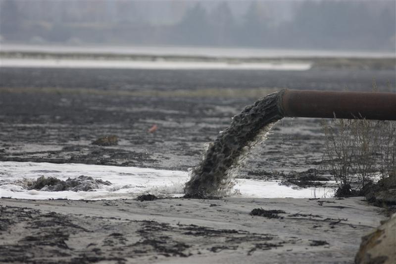 Порой ошибка человека может нанести огромный ущерб реке