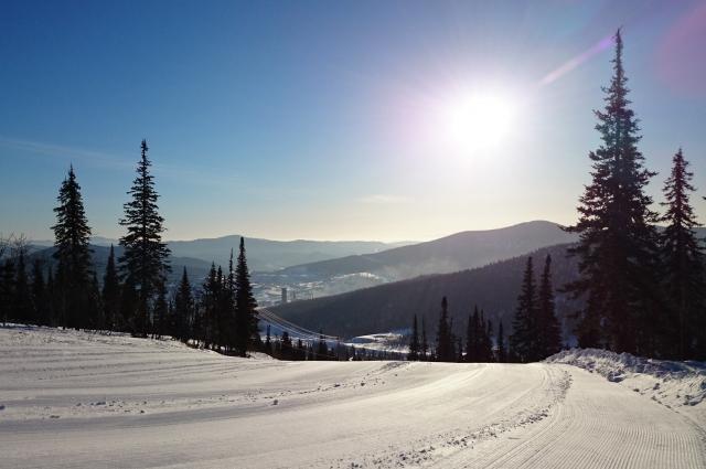 Встретить НОвый год на горном склоне - незабываемый опыт.