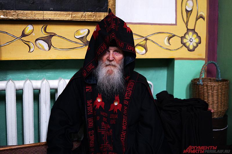 Схимонаху Кукше теперь положено новое облачение