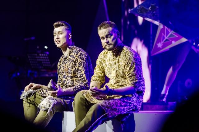 Сергея Миронова и Антона Анкушина выбрали из 9000 тысяч претендентов для выступления в полуфинале.