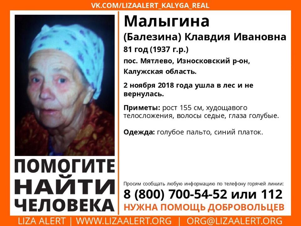 Продолжаются поиски пропавшей в лесу пожилой женщины