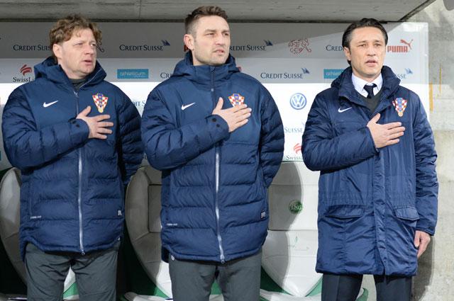 Нико Ковач со своими помощниками