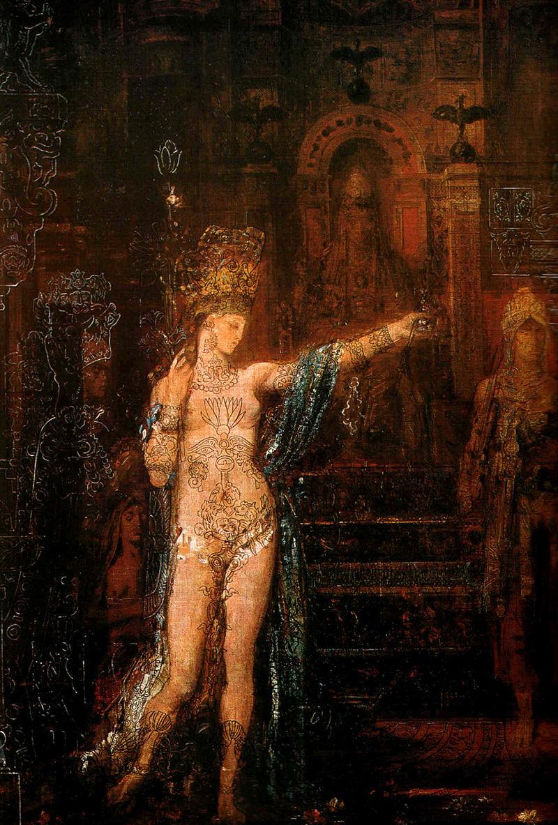 Гюстав Моро. Картина Саломея.