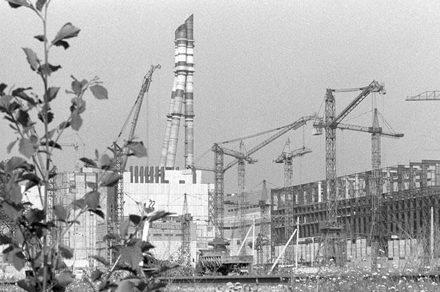 Игналинская атомная электростанция, 1984 г.