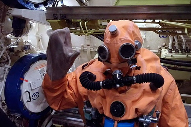 Подводная лодка, эвакуация экипажа