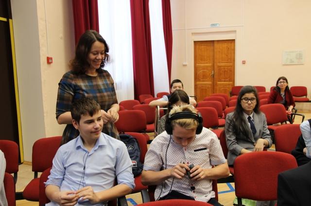 Для слепых и слабовидящих детей провели профориентационное мероприятие.
