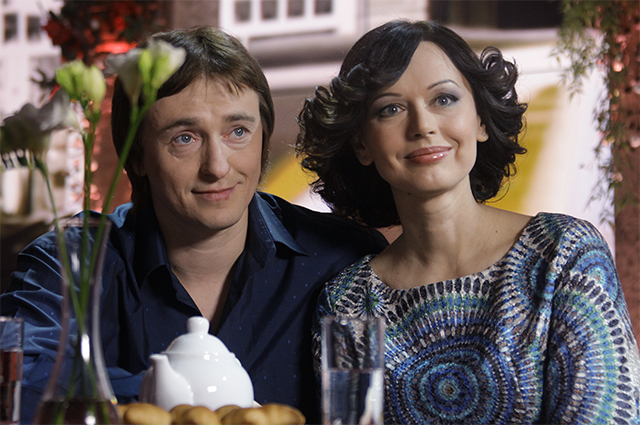 Сергей и Ирина Безруковы. 2010 год.