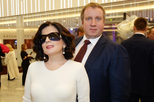 Диана Гурцкая с мужем Петром Кучеренко.