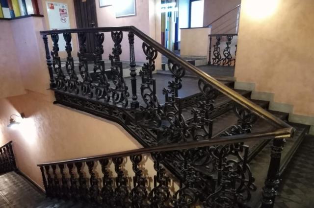 «На мой взгляд, лестница не уникальная, а просто хорошо сохранившаяся», – считает краевед Лев Жаржевский.