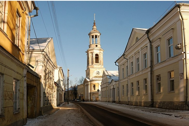 Торжок, улица Луначарского.