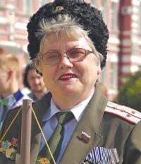 Казчка Ольга Некрасова.