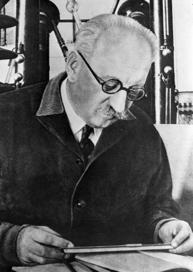 Абрам Иоффе. 1934 год.
