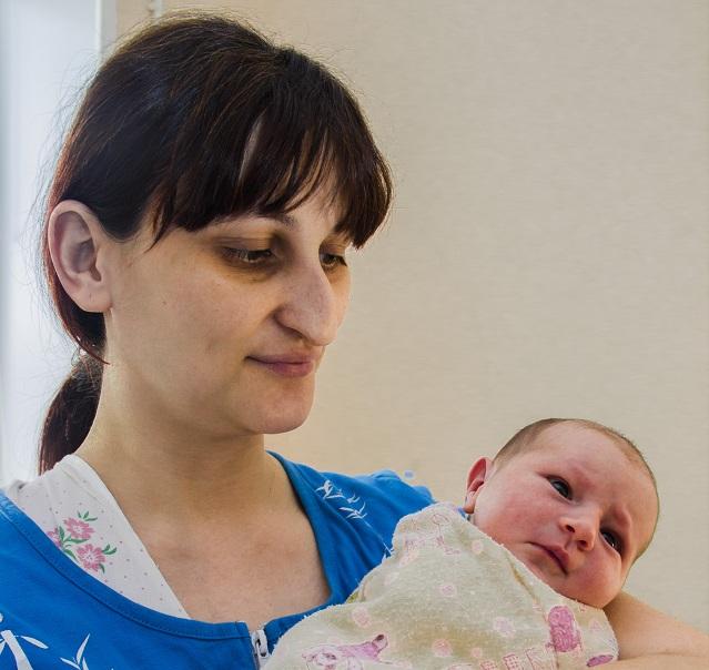 Наталья Чайникова проводила родами старый год.