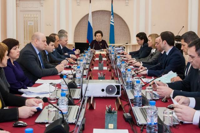 Заседание правительства Югры, на котором уволили Сергея Макарова.