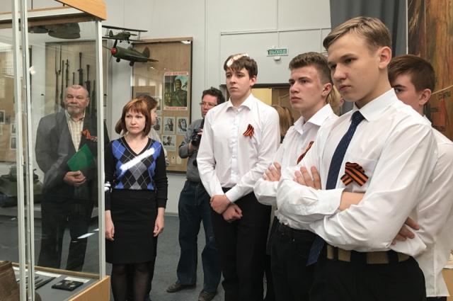 Студенты Псковского технического лицея.