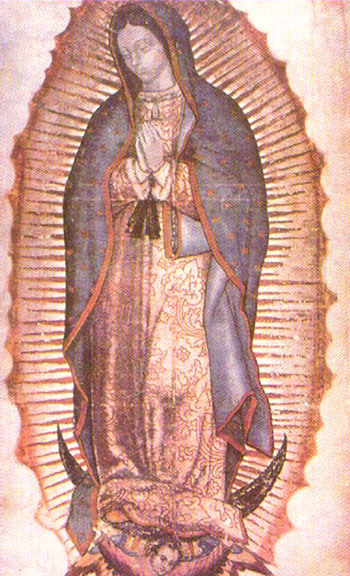 Образ Девы Марии Гваделупской.