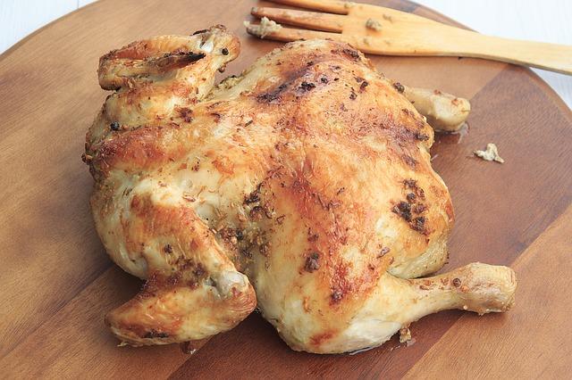 курица, еда